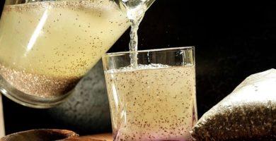 jugo de linaza